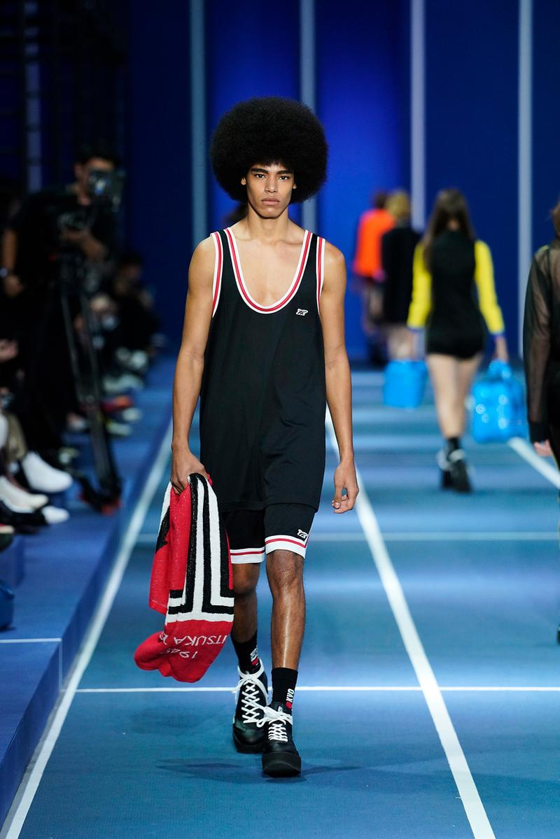 onitsuka tiger spring summer 2020 runway show tokyo fashion week creative director andrea pompilio sporty heritage innovation sportswear