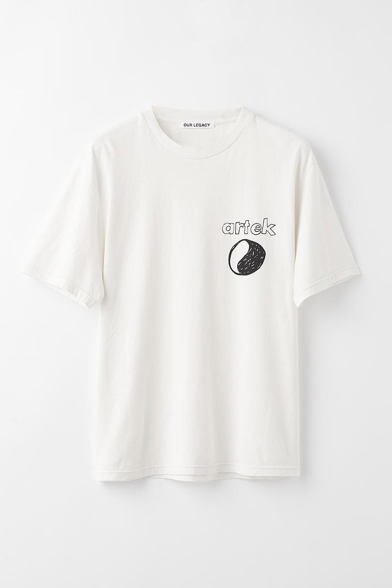 Our Legacy WORK SHOP x Artek Stool 60 Ystävä Capsule Collection Clothing T-Shirt Short Sleeve Long-Sleeve Dover Street Market Ginza Showcase Founders Alvar Aalto Creative Director Cristopher Nying Hank Grüner Jockum Hallin