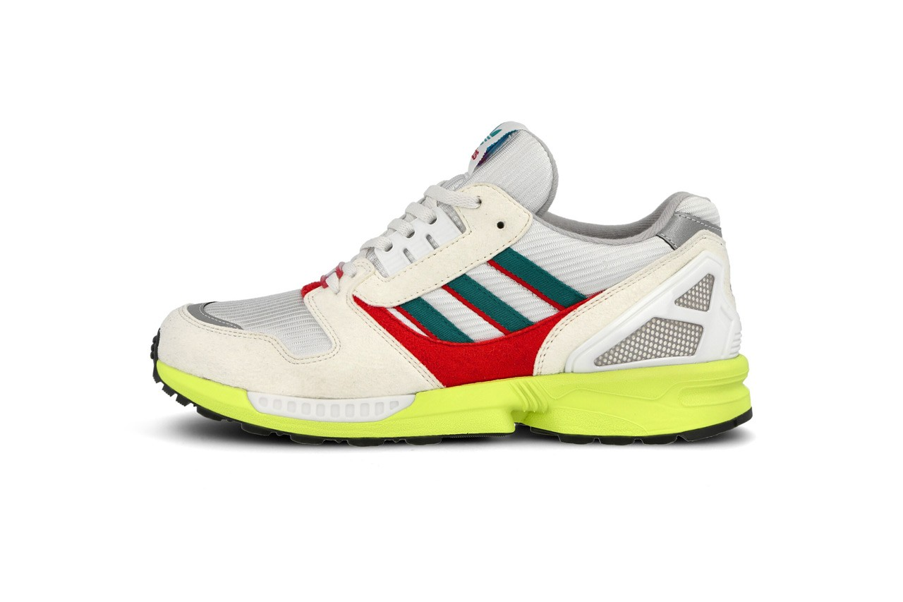 adidas overkill no walls needed pack berlin zx8000 white green red volt yellow blue purple fw7259 fw7260 release date info photos wall germany
