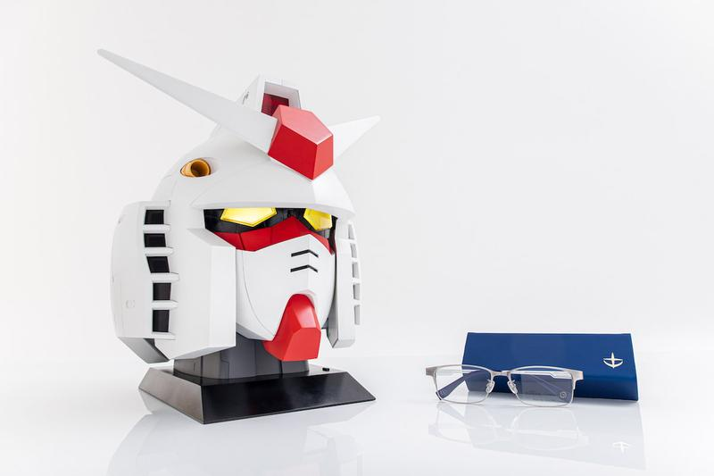 OWNDAYS Mobile Suit Gundam 40th Anniversary RX-78-2 Glasses Case