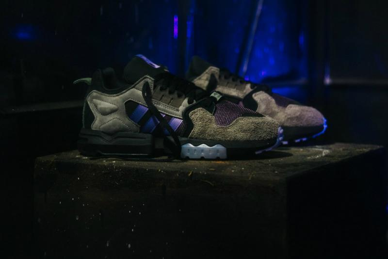PACKER ADIDAS CONSORTIUM ZX TORSION MEGA VIOLET shoes sneakers collab collaboration purple black october 2019 fw19 fall winter cost price where to buy details pic pics