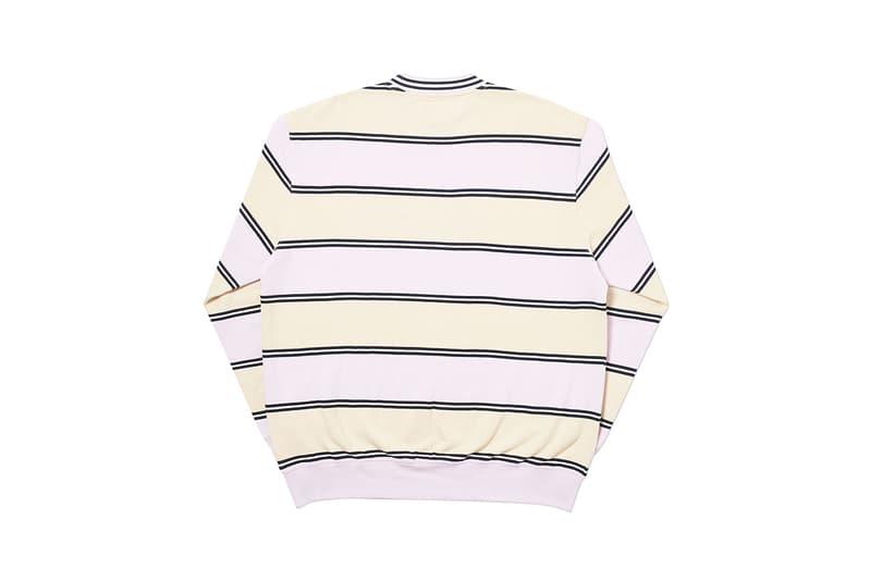 Palace skateboards week four winter 2019 release drop list matrix puffa hoodie beanie cap hat t-shirt longsleeve knitwear sweatshirt buy cop purchase first look