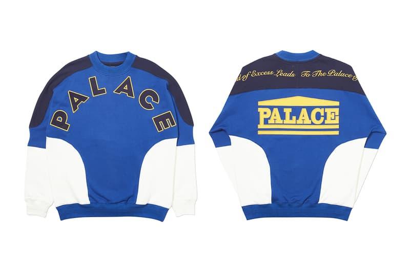 Palace Skateboards Winter 2019 Week Two Seasonal Drops Skateboards Skateboarding Jackets T-Shirts Caps Jumpers Sweatshirts Track Pants Release info Date Buy Reebok JK Workout Mid
