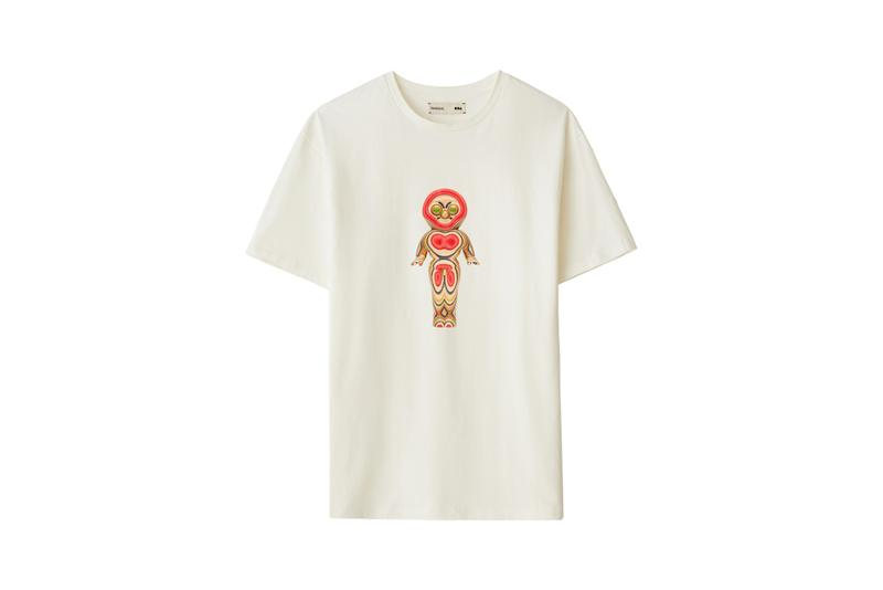 Haroshi PANGAIA Capsule Collection Release Seaweed T-shirts Skateboard Wooden Sculptures Prints Pink Red Blue Brown Green