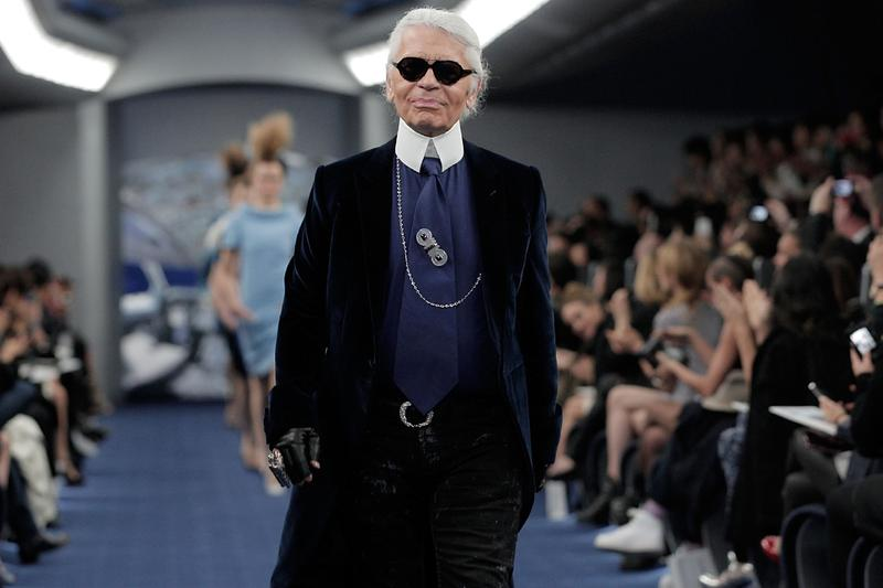 Paris Dominated Instagram Fashion Month Survey Study Statistics Chanel Karl Lagerfeld