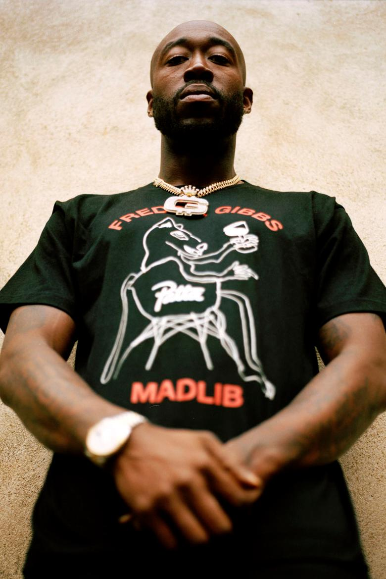 freddie gibbs madlib patta soundsystem t-shirts release details bandana tour data amsterdam london milan web store how to buy purchase cop