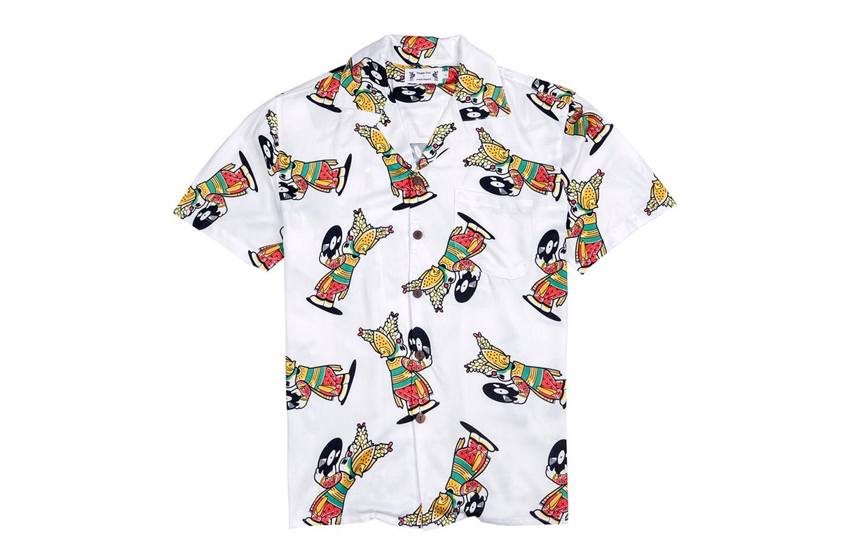 Peggy Gou Potato Head Hawaiian Shirts prints short sleeve button ups apparel influence balinese biodegradable eco friendly environmental