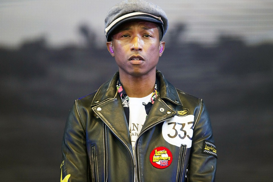 """Pharrell Williams Talks Gender Fluidity and """"Blurred Lines"""" Controversy"""