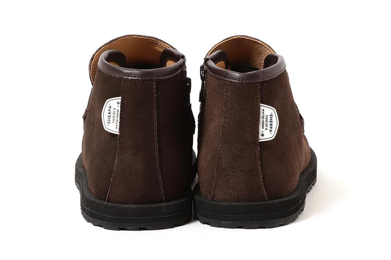 Pilgrim Surf + Supply Suicoke BETO SWAPB Black Dark Brown footwear chukka boots shoes sneakers collaborations loafers vibram sole