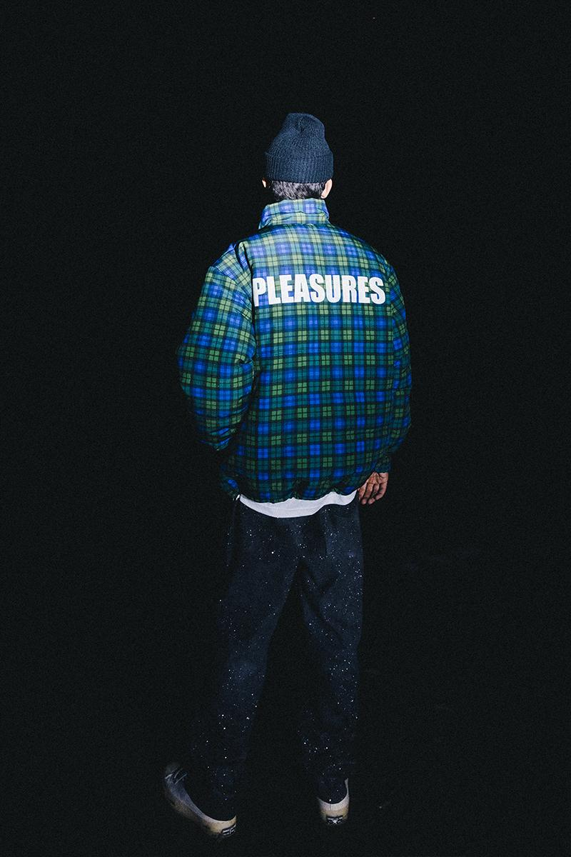 PLEASURES Holiday 2019 Collection Lookbook Release Info Date Buy Jackets Cardigan Sweater T shirt Pants