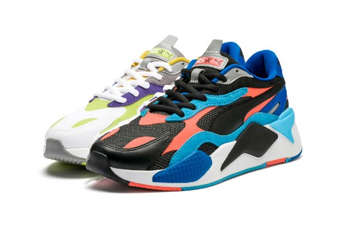 PUMA Introduces Multicolored & Multi-Textured RS-X³ LEVEL UP