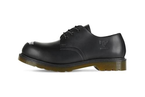 Raf Simons x Dr. Martens' Lastest Shoe Features Rough Steel Toe Cut-Outs