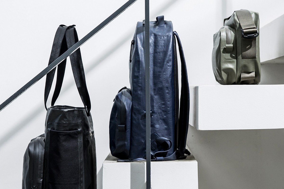 HEAD PORTER Rebranded RAMIDUS Store & Collection Launch Osaka Tokyo Jackets Fragment design Loopwheeler Wolf's Head Bags TYPE tyvek