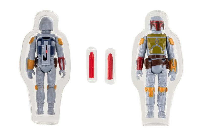 Hakes Auctions Rare Star Wars Boba Fett Action Figure Auction $500,000 USD Collectables