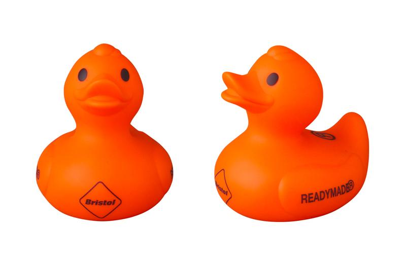 READYMADE FC Real Bristol Rubber Duckie orange sophnet medicom toy vintage retro toys accessories japanese novelties collectibles