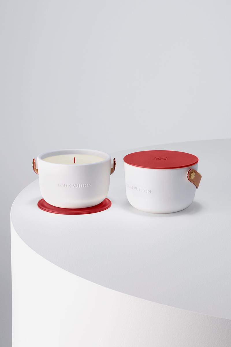(RED) x Louis Vuitton I (RED) Candle Homeware Drops Release Information AIDS Support Non Profit Organization Fundraising Charity Donation Sales