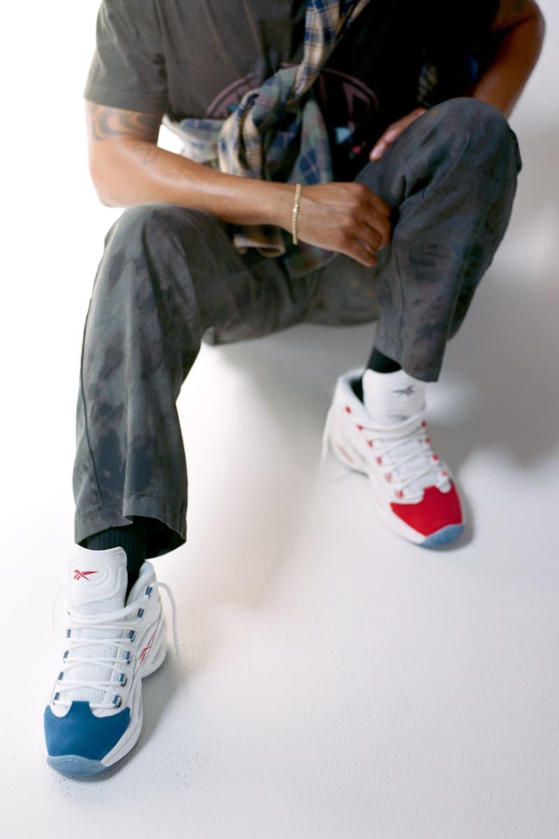 online winkel sportschoenen kijk uit voor Reebok Question Mid