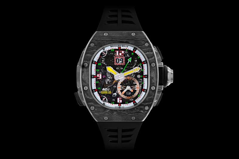 Richard Mille RM 62-01 Tourbillon Vibrating Alarm swiss watch AP luxury Airbus Corporate Jets carbon titanium engineering watchmaking