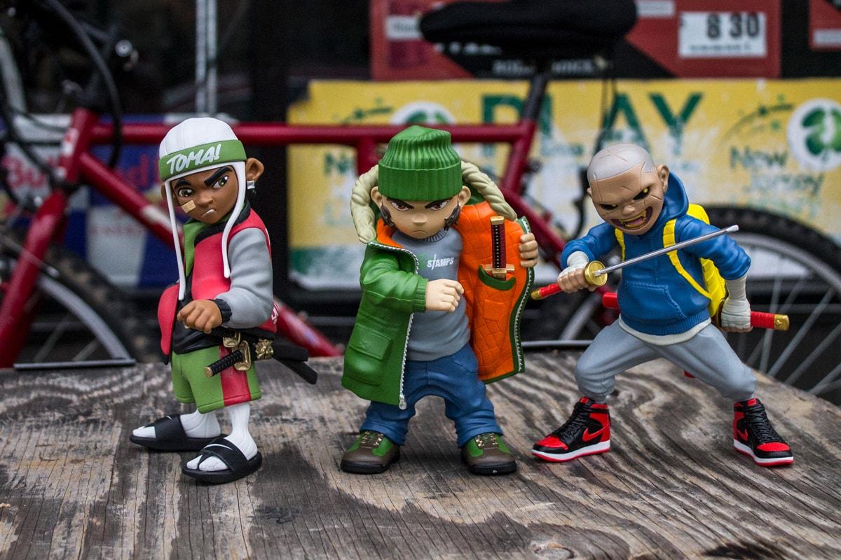 Rios Palante FU-Stamps FU-Crew Interview Collectable Figures Tenacious Toys Toys R Us teenage mutant ninja turtles bodega ninja dega bronx new york city