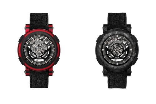 RJ & Marvel Honor 'Spider-Man's' Strengths With Two ARRAW Tourbillion Watches