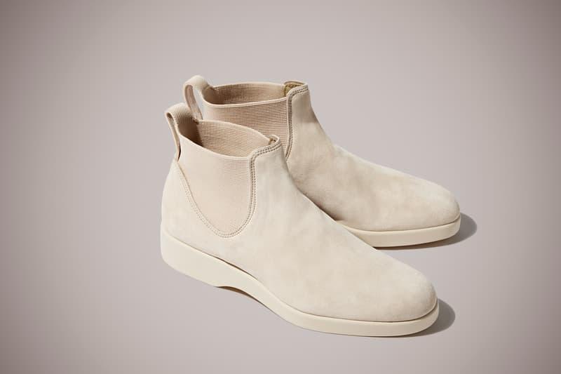 Marc Newson R.M. Williams The Yard Boot 365 Black Walnut Indigo Olive Quartz Off-White Suede Leather