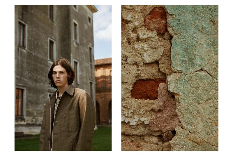 Barena Archive 1993 FW19 Editorial by Roden Gray fall winter 2019 collection look menswear venezia
