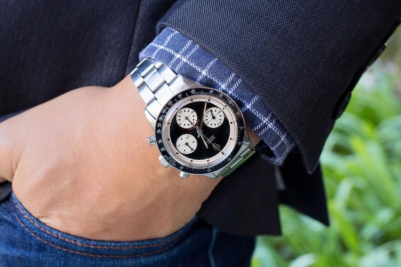 "Rolex Daytona ""Paul Newman"" Found in Couch Bob's Watches Swiss watches Rolex Cosmograph vintage watch"
