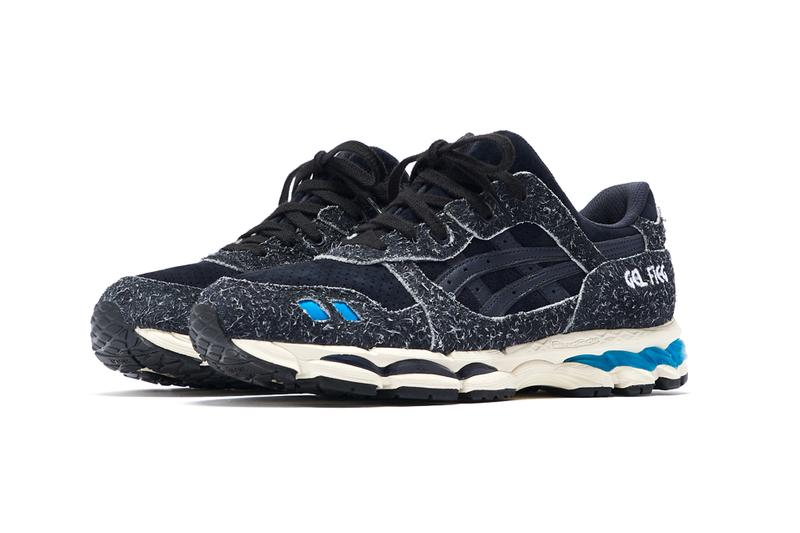 """Ronnie Fieg x ASICS """"Super Blue"""" GEL-Lyte III 10th anniversary collaboration preview footwear sneakers Ronnie Fieg x ASICS Super Blue 10th Anniversary Capsule release"""