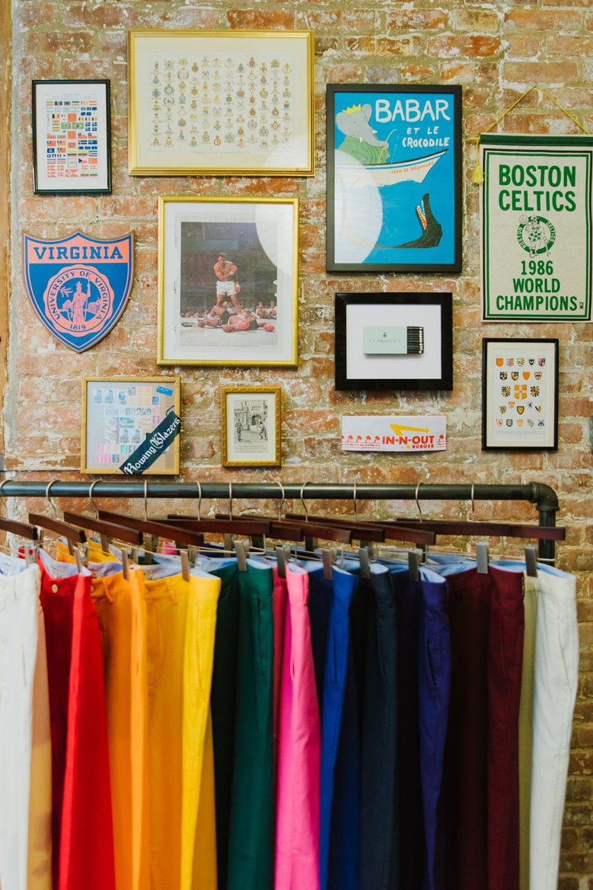 rowing blazers fall winter 2019 drop 2 collection lookbook release brooklyn williamsburg popup pop up shop rugbys blazers georgetown tee tshirt prep fw19 cricket cableknit sweaters post ivy collegiate theme