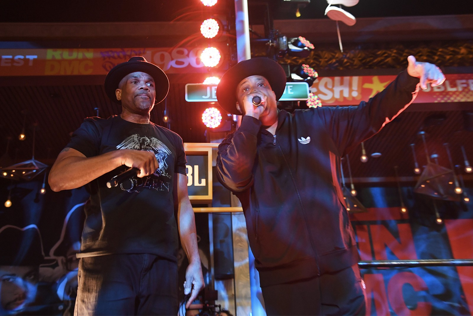 Run-D.M.C.'s Darryl McDaniels 2019 JBL Fest Interview rap hip-hop pioneers rock and roll