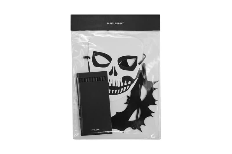 Saint Laurent Rive Droite Halloween Capsule release information ysl clothing accessories candy lighters masks makeup
