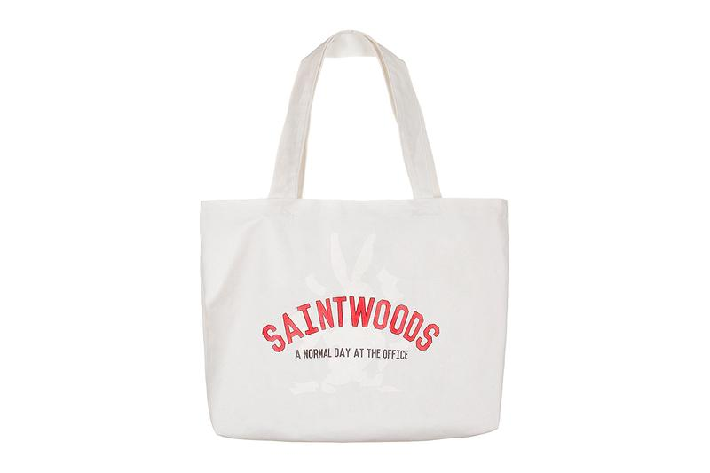 SAINTWOODS SW008 Collection fall winter 2019 capsule streetwear casual sweatshirts graphic tees Nathan Gannage Zach Macklovitch saint laurent blvd