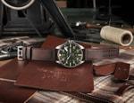 Schott NYC & Hamilton Team up on Heritage Military-Inspired Khaki Pilot Watch