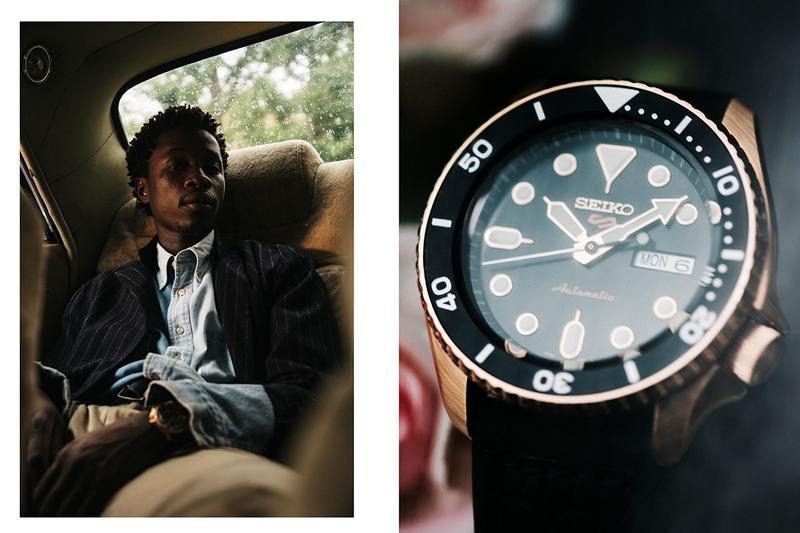 Seiko Takes Us on a Road Trip for the Seiko 5 Sports Fashion Japan Sports Streetwear Lookbook Editorial Youth