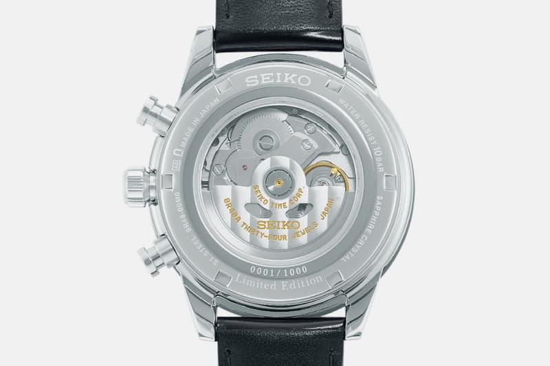 Seiko SRQ031 Chronograph Limited Edition Release 55th anniversary