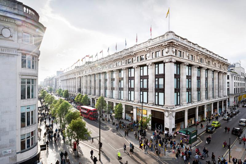 Selfridges Year End Financial Results Info Retail UK London Manchester Brasserie of Light EL&N Restaurant Skate Profit Operating Expenses Movie Theater Customer Experience Department Store Retail Apocalypse