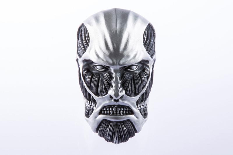 Shoya Taniguchi Attack on Titan Colossal Titan Ring Release info Date Buy Silver 925