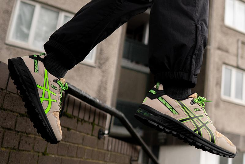 "size? x ASICS ""Base Camp & Mission"" Collection Release Information First Look Footwear Sneaker Drop Limited Edition Collaboration Hiking Technical Runners"