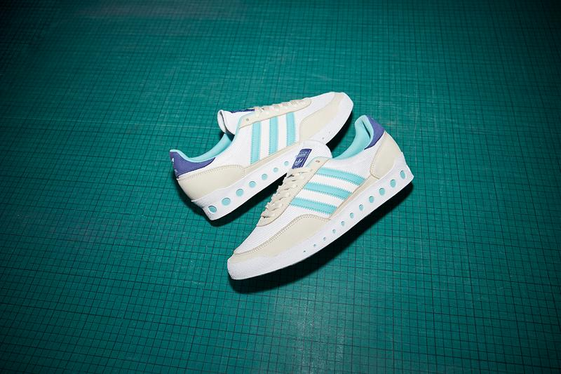 "size? Exclusive adidas Originals Training PT ""Album Covers"" Release Information Drops Graphic Designer Brian Cannon Oasis 'Definitely Maybe'"