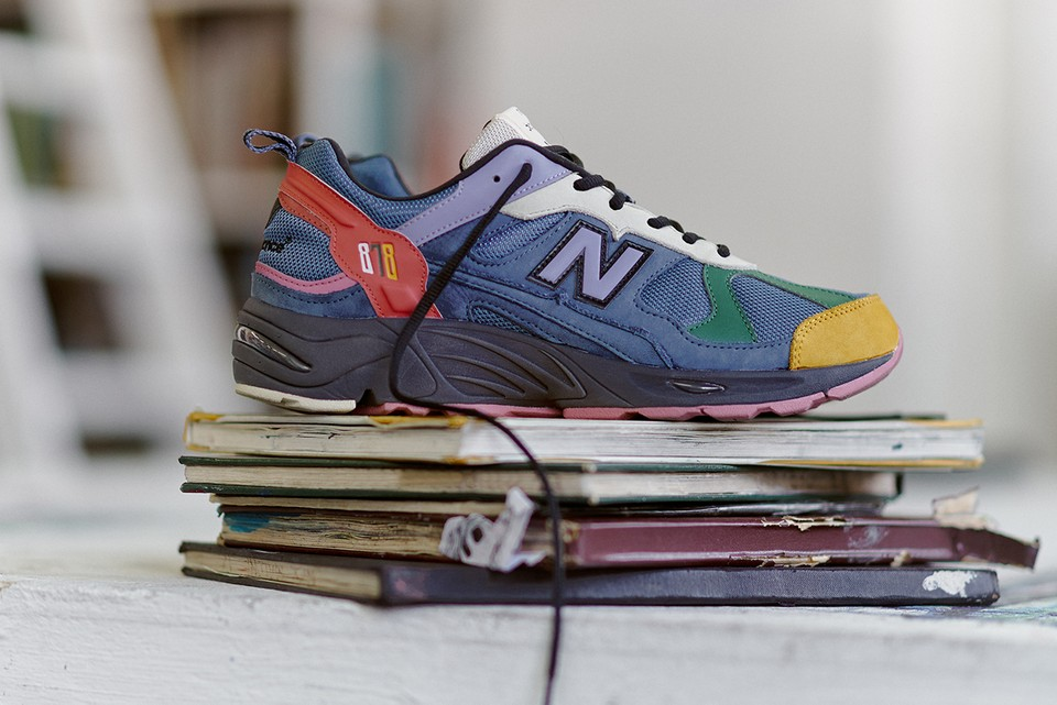 size? & New Balance Get Artistic With Exclusive 878 Release