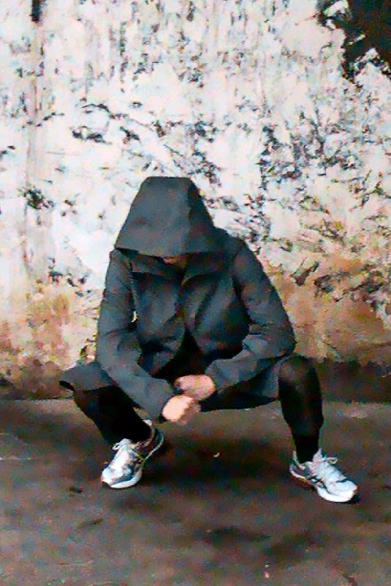 "Slam Jam x ASICS gel Kinsei ""Club Europa"" Editorial Photoshoot Lookbook Footwear Showcase Sneaker Closer Look Hallucinatory Photographs Videos lookbooks"
