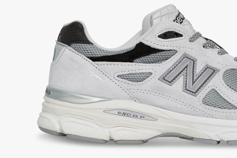 Slam Jam x New Balance 990v3 Sneaker Collab Drop release date info where to buy raffle 89 pieces limited nb1 program october 12 2019