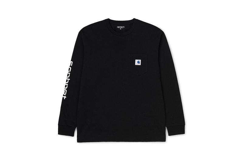 SOPHNET. x Carhartt WIP Fall/Winter 2019 Collection First Look Sweaters Hoodies Long-Sleeve T-Shirts Throwovers Anorak Quarter Zip Beanies Key Chain Tote bag