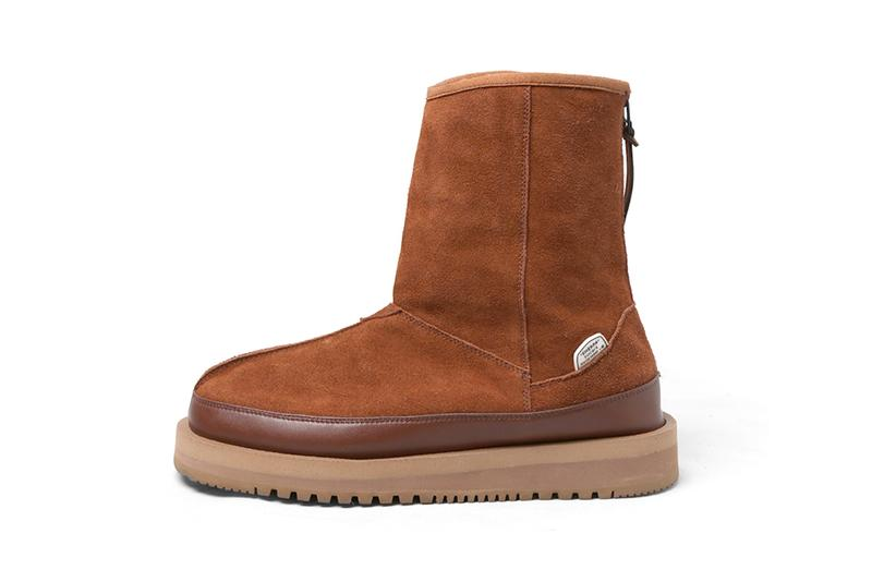 South2 West8 x Suicoke Sherpa Boot Arctic Grip Sole Vibram Nepenthes FK882B FK882A FK883A FK883B mouton lining winter hunting snow