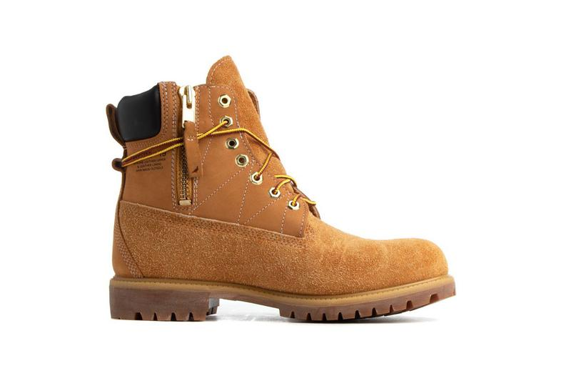 staple jeff jeffstaple timberland 6 inch side zip boot wheat release date info photos collaboration colorway