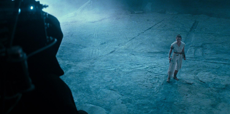 'Star Wars: The Rise of Skywalker' Final Trailer Breakdown easter eggs emperor palpatine senate sith dagger mortis b-1  battle droid ghost ship darth vader helmet rey kylo ren rebel resistance first order c3po death