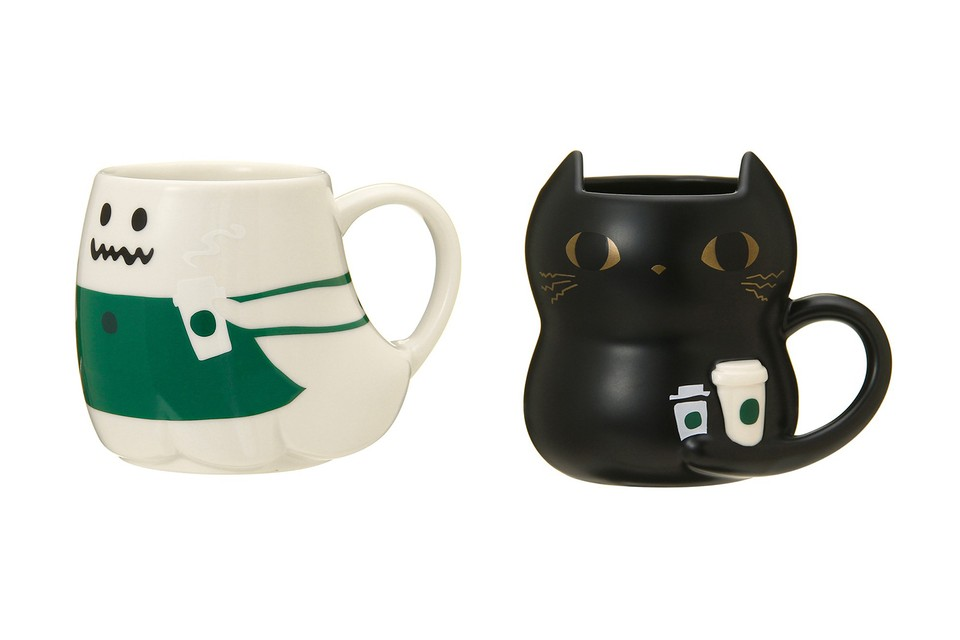 Starbucks Japan Releases Halloween-Themed Collection of Mugs