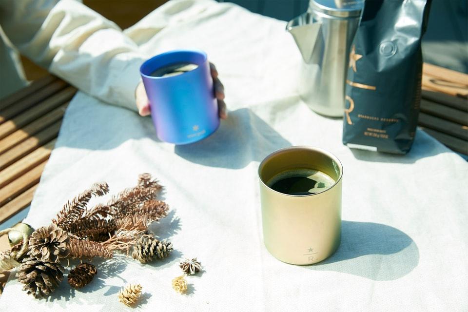Snow Peak Is Joining Starbucks for a Titanium Stacking Mug