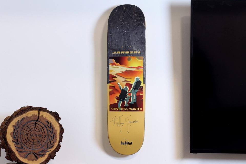 Stefan Janoski Drops Personalized Sneakers & Skateboard Decks
