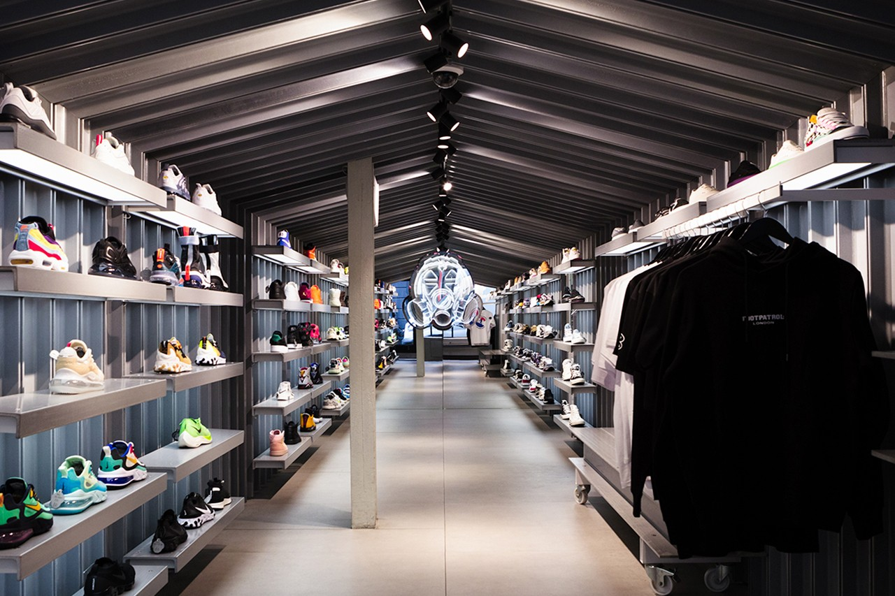 Stores in London's Soho District